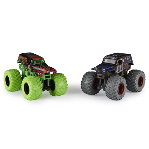 1:64 Grave Digger and Son-Uva Digger Zombie vs Hunter Duo