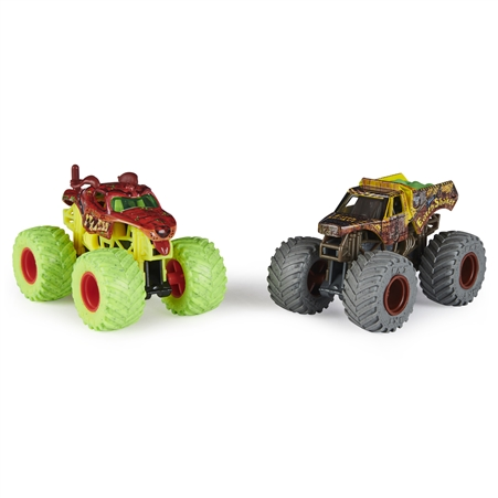 1:64 Monster Mutt and Earth Shaker Zombie vs Hunter Duo