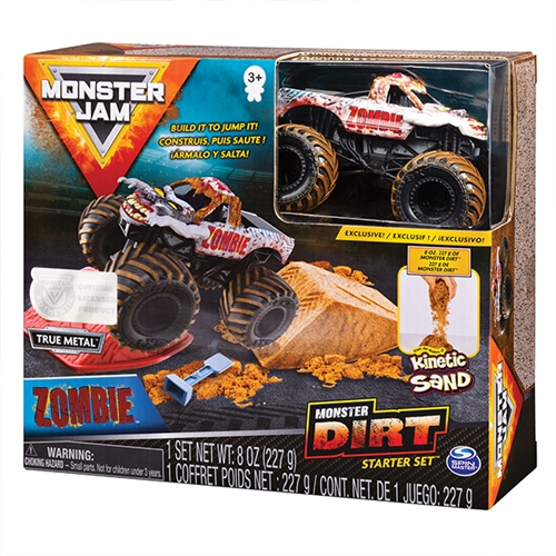 Monster Dirt Starter Set with 1:64 Zombie