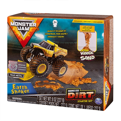 Monster Dirt Starter Set with 1:64 Earth Shaker