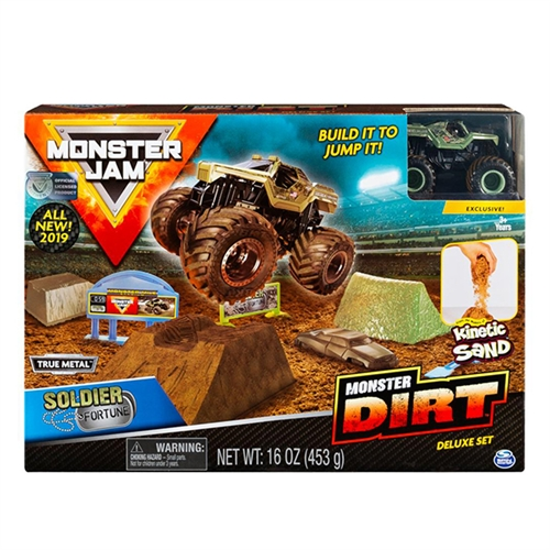 Soldier Fortune Monster Dirt Deluxe Set