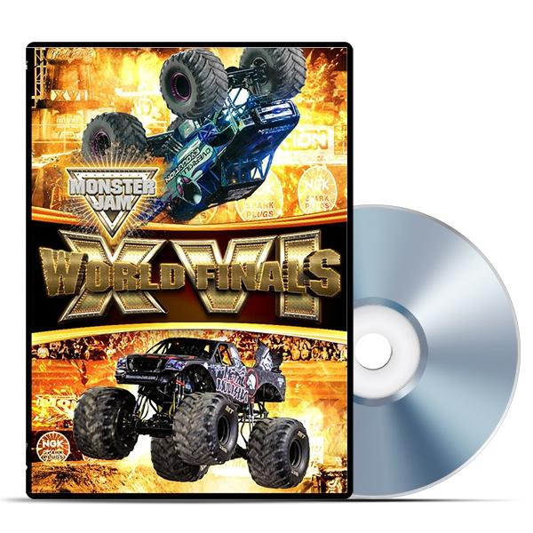 Monster Jam Las Vegas >> Pre-Order Monster Jam World Finals XVI DVD
