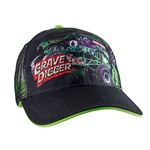 Grave Digger Mesh Cemetery Cap