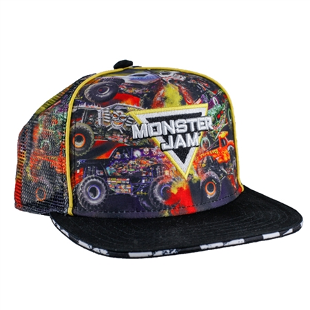 Youth Monster Jam World Tour Cap