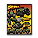 Dragon Decal Sheet