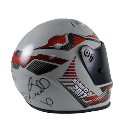 Mini Autographed World Finals Helmet