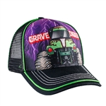Grave Digger Lightning Youth Hat