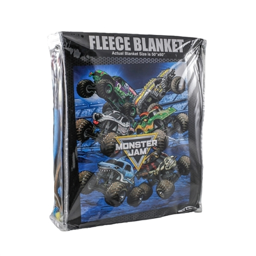 Monster Jam Fleece Blanket