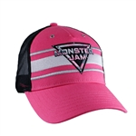 Ladies Pink Camo Monster Jam Cap