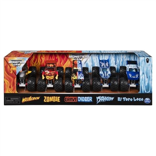 1:64 Fire & Ice 5 Pack