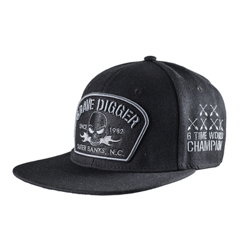Grave Digger Patch Black Cap