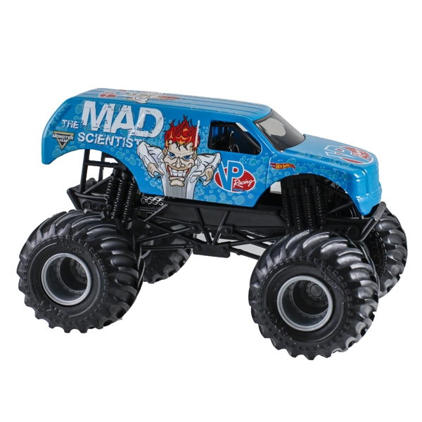 1 24 hot wheels vp racing fuels mad scientist truck. Black Bedroom Furniture Sets. Home Design Ideas