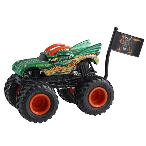 1:64 Hot Wheels Dragon Truck - Flag Series - 9/10 Creatures