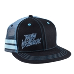 Megalodon Double Striped Cap
