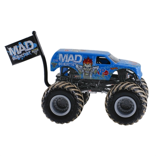 1:64 Hot Wheels VP Racing Fuels' Mad Scientist® Truck - Flag Series - 6/7 Mud