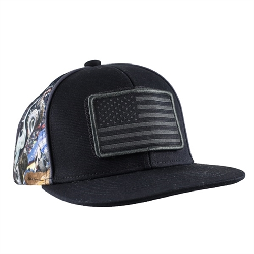 Soldier Fortune - Black Ops Patch Flag Cap