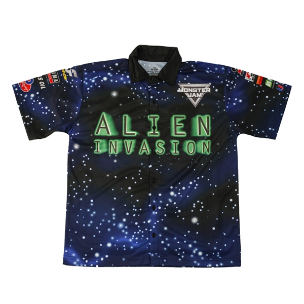 Alien Invasion Youth Driver Shirt - Youth Medium