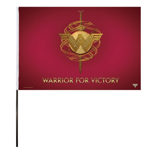 Wonder Woman Flag (14x22 in)