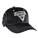 Monster Jam Black Mesh Cap