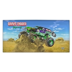 Grave Digger Sand Beach Towel
