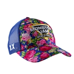 2019 Monster Jam World Finals Ladies Floral Cap