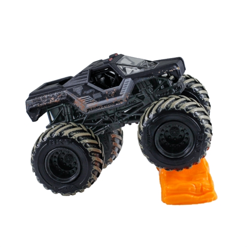1:64 Hot Wheels Black Ops Truck - Re-Crushable Car 4/6 Mud