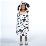 Monster Mutt Dalmatian Kids Hooded Towel