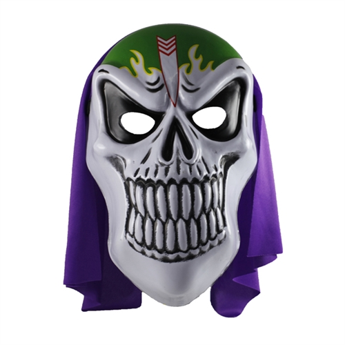 Grim Full Mask with Hood