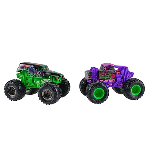 1:64 Grave Digger and Wild Flower Duo