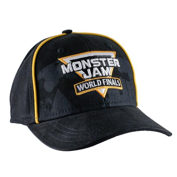 9be3662f6b3 Monster Jam World Finals Piping Cap