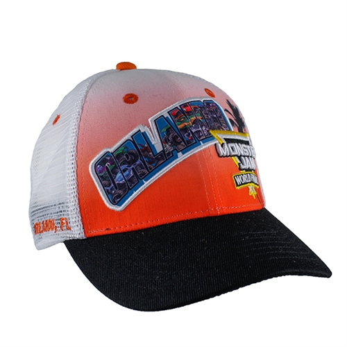 2019 Monster Jam World Finals Orlando Postcard Cap