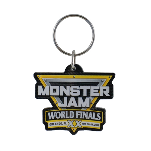 2019 Monster Jam World Finals Keychain