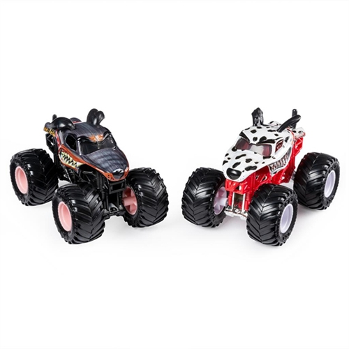 1:64 Monster Mutt Rottweiler and Dalmatian Duo
