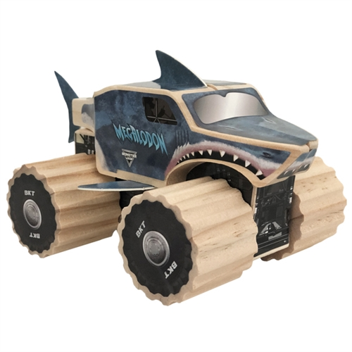 Megalodon Build Truck Project Set