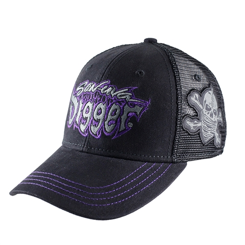Son-Uva Digger Skull Side Hat
