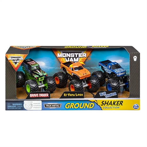 Monster Jam, Ground Shaker 3 Pack