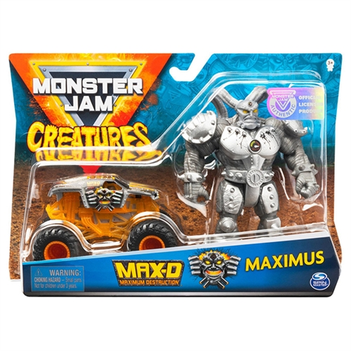 Monster Jam Creatures Max D