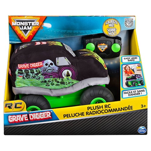Grave Digger Plush RC Truck