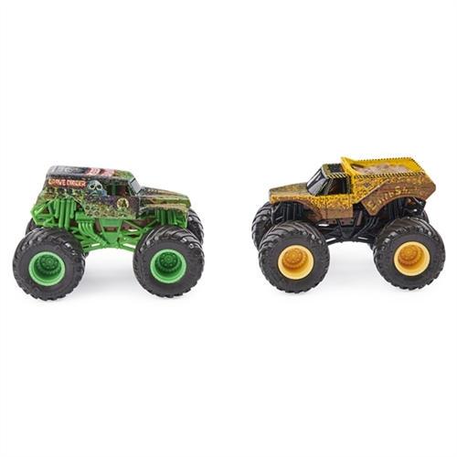 1:64 Grave Digger and Earth Shaker Duo