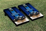 Monster Jam Blue Thunder Cornhole Game Set Vintage Version