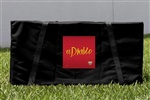 Monster Jam El Diablo Cornhole Carrying Case