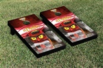 Monster Jam El Diablo Cornhole Game Set Smoke Version