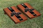 Monster Jam El Toro Loco Black Cornhole Game Set Rosewood Stained Stripe Version