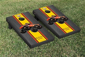 Monster Jam El Toro Loco Red Cornhole Game Set Onyx Stained Version