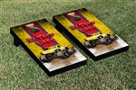 Monster Jam El Toro Loco Yellow Cornhole Game Set Vintage Version