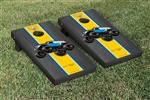 Monster Jam Grave Digger The Legend Cornhole Game Set Onyx Stained Version