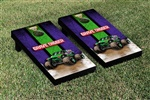 Monster Jam Grave Digger Cornhole Game Set Vintage Version