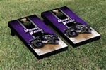 Monster Jam Mohawk Warrior Cornhole Game Set Vintage Version