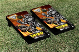 Monster Jam Max D Cornhole Game Set Creature Version