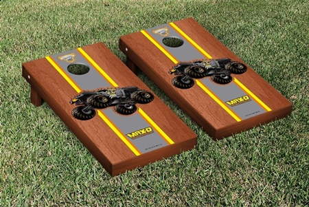 Monster Jam Max D Cornhole Game Set Rosewood Stained Version